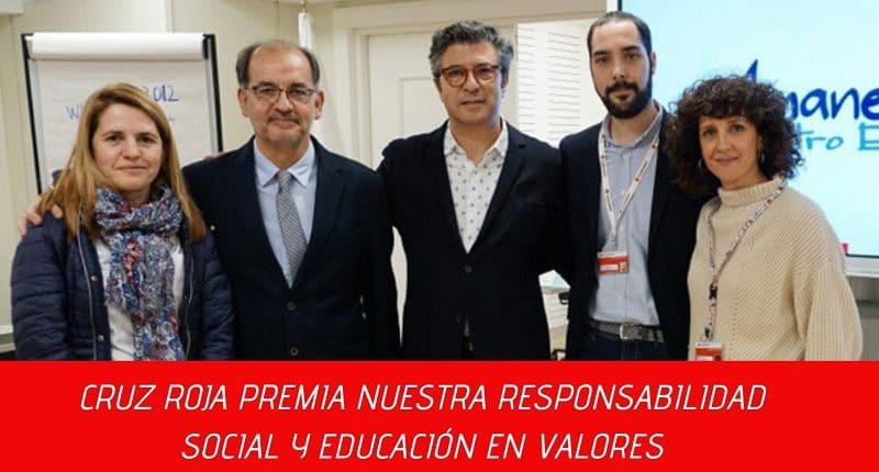 solidaridad cruz roja colegio amanecer alcorcon