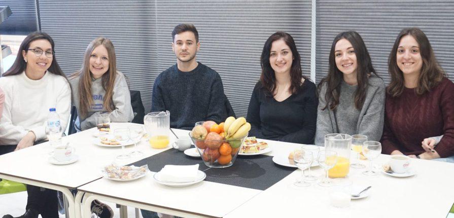 Profesores en prácticas del Colegio Amanecer de Alcorcón