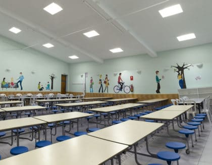 instalaciones colegio Amanecer