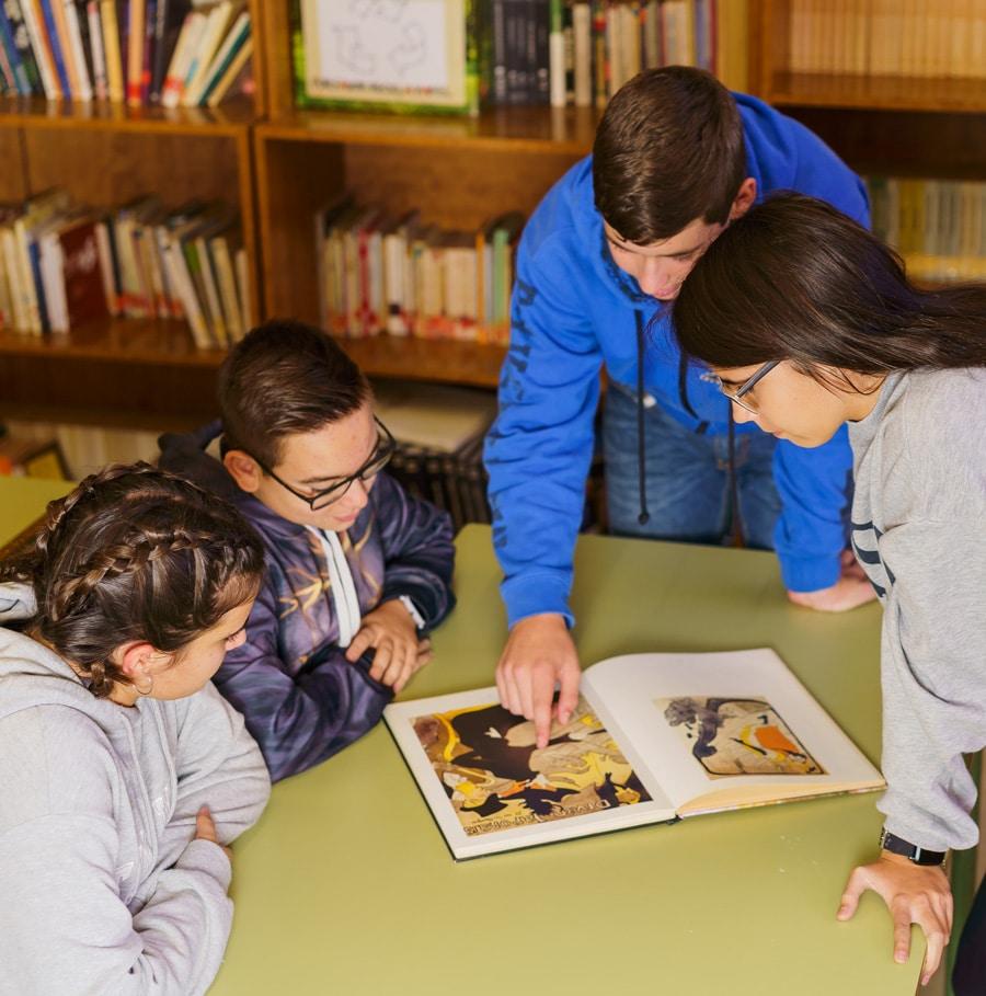 biblioteca colegio Amanecer Alcorcón