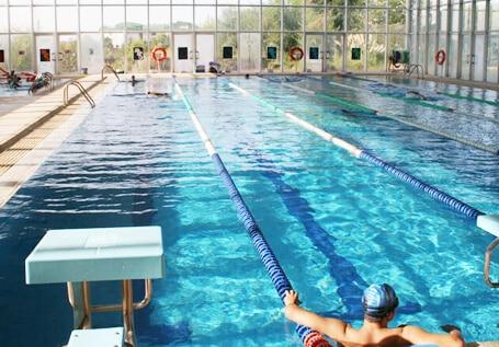 pisicina colegio Amanecer Alcorcón