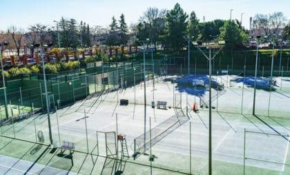 pista tenis colegio Amanecer Alcorcón