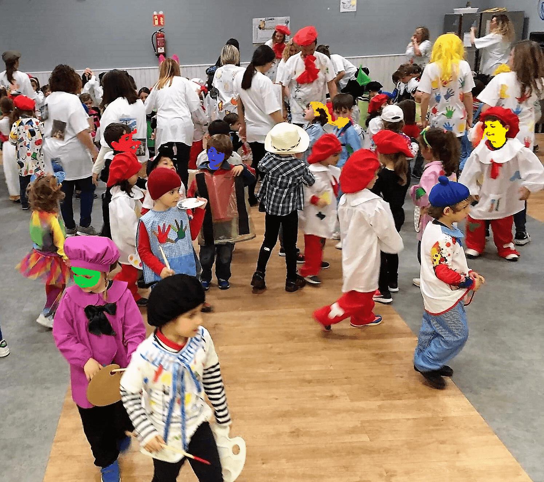 Infantil del Colegio Amanecer en Carnaval