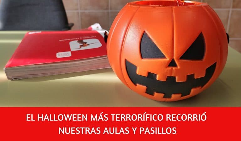 terror halloween colegio amancer