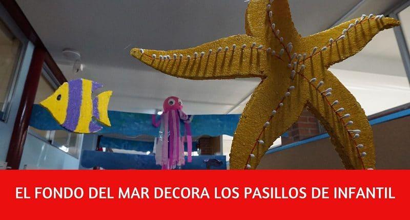 fondo marino pasillo educacion infantil
