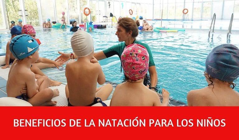 natación educación infantil
