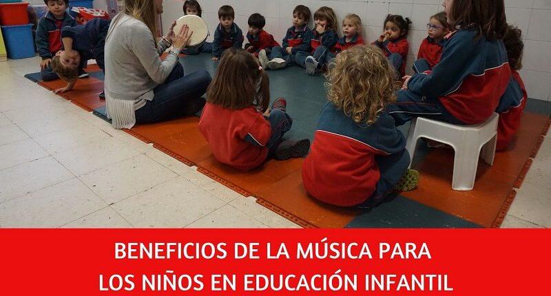 la música proporciona multiples beneficios cognitivos y físicos a los niños