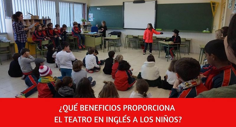 Beneficios del teatro en inglés y bilinguismo para niños de Primaria