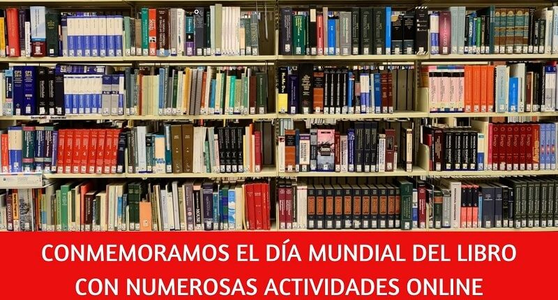 Numerosas actividades para celebrar Día del Libro