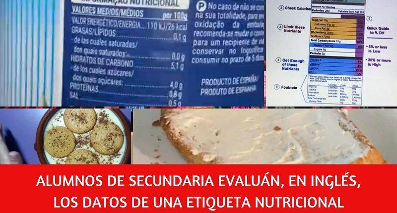 cómo interpretar una etiqueta nutricional