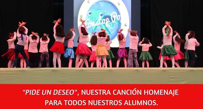"""""""Pide un deseo"""" canción con la que animamos y homenajeamos a nuestros alumnos"""