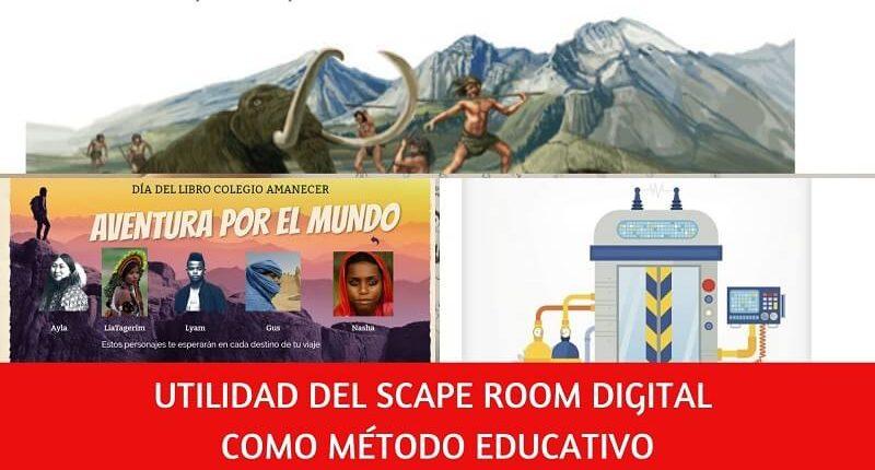 Scape room educativo digital para aprender y divertirse en Colegio Amanecer Alcorcón
