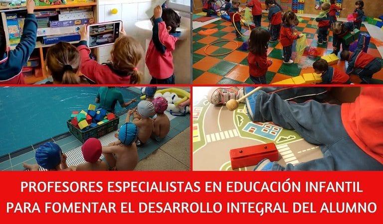 Profesores especialistas en distintos ambitos educacion infantil colegio amanecer alcorcon
