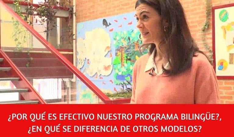 Bilingüismo efectivo para aprender inglés en el colegio Amanecer Alcorcón