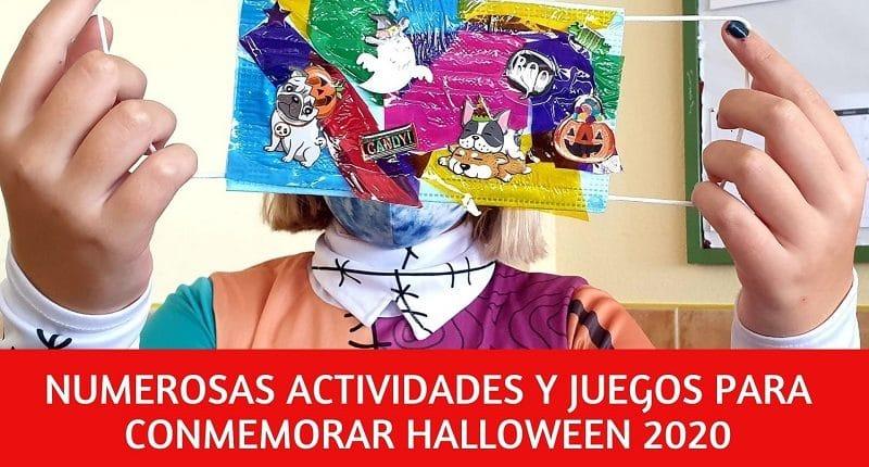 Halloween con muchas actividades y juegos