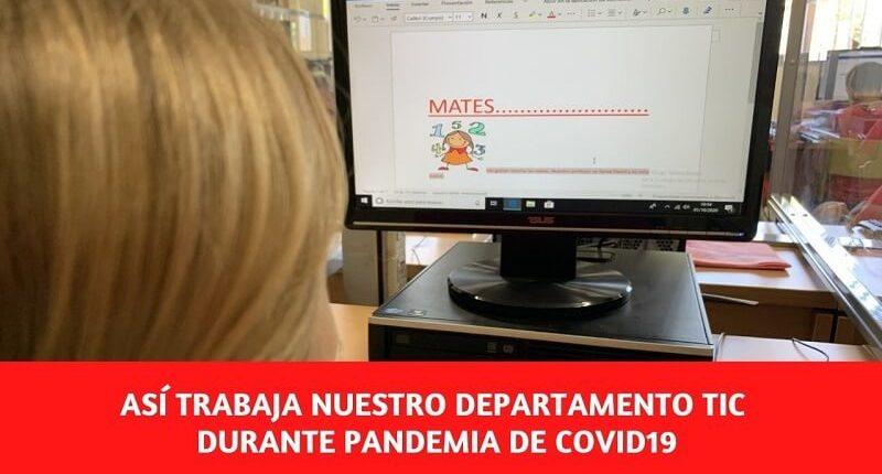 Destacado trabajo Departamento TIC colegio Amanecer Alcorcón