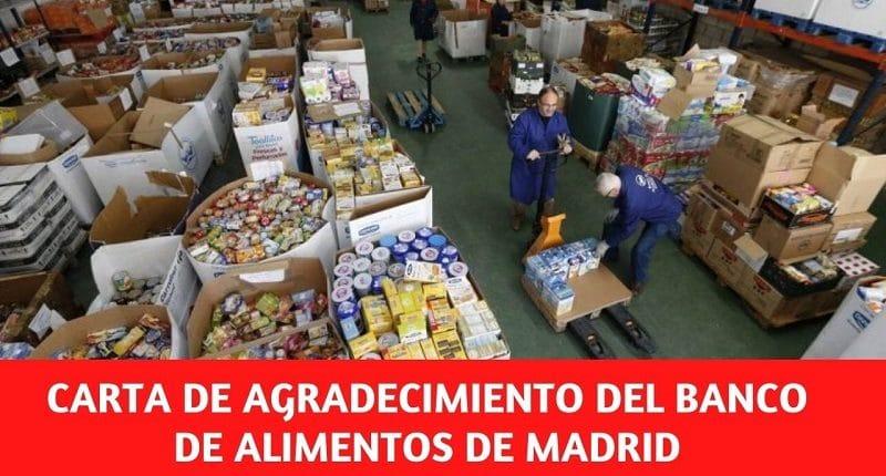 Operación kilo del Banco de Alimentos de Madrid