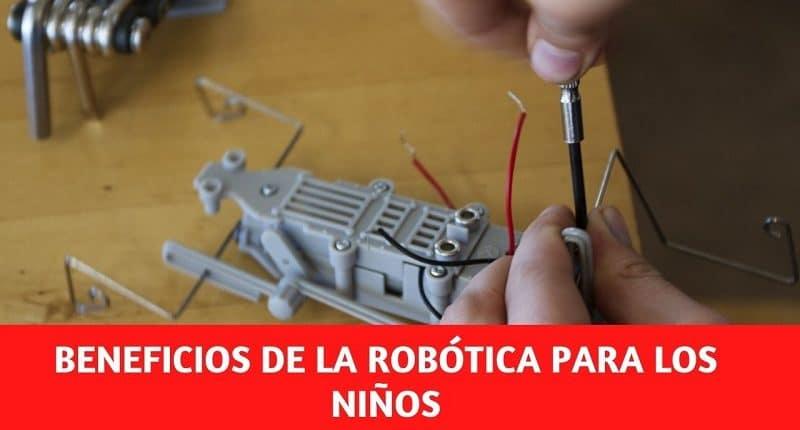 Beneficios de la robótica para los niños