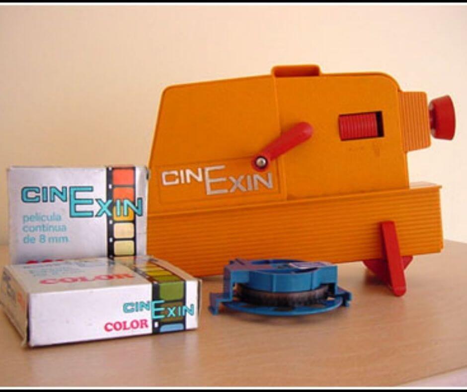 Cinexín. Juguetes de éxito de los años 80 en España.