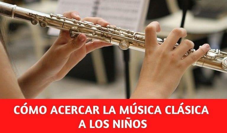 Cómo acercar a los niños la música clásica