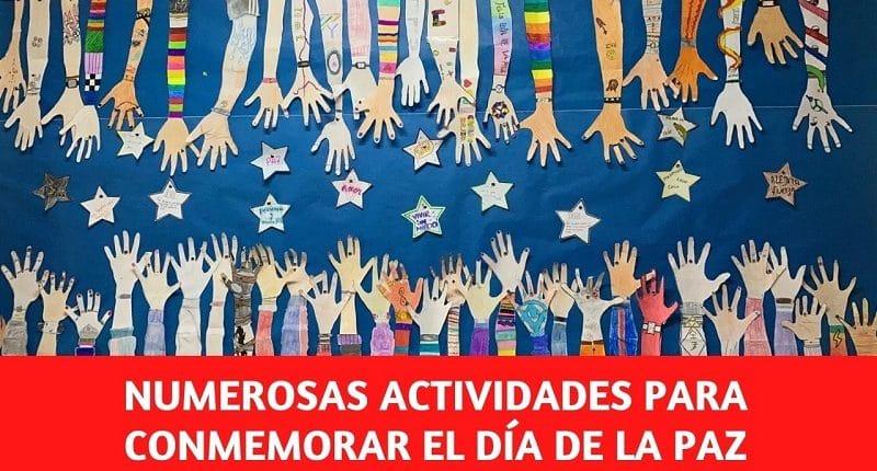 Día de la Paz y la No violencia en el colegio Amanecer