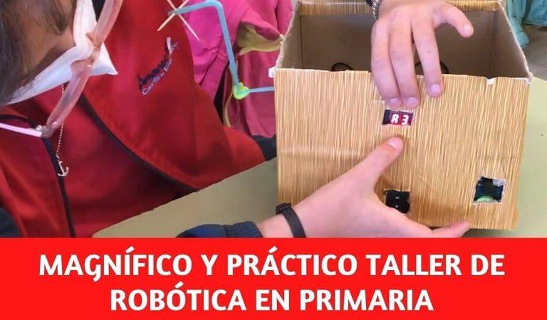 Robotica educativa en el colegio Amanecer de Alcorcón