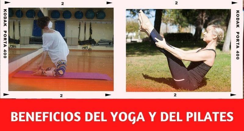 El yoga y el pilates proporcionan numerosos beneficios para nuestra salud física y mental