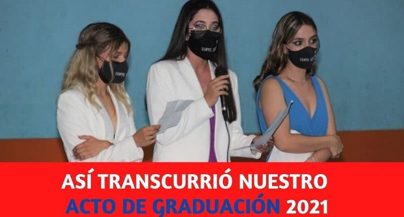 acto de graduacion 2021 en el colegio amanecer