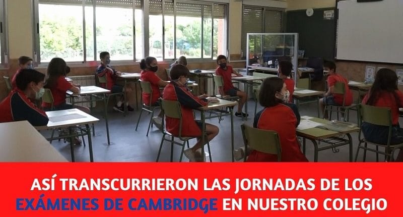 exámenes de cambridge en el colegio amanecer
