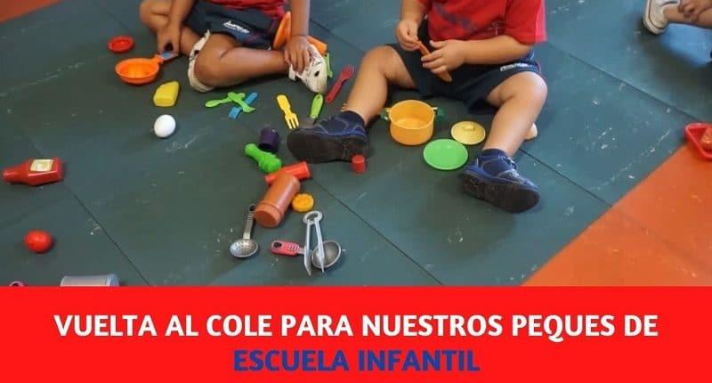 Escuela Infantil del Colegio Amanecer regresa a las aulas