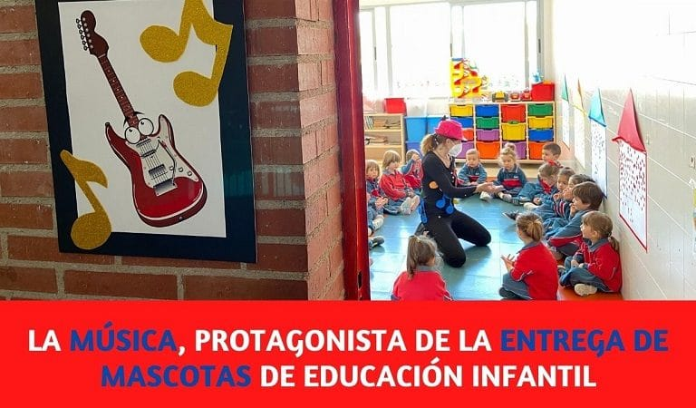 La Música fue la temática elegida en la entrega de mascotas de educación infantil
